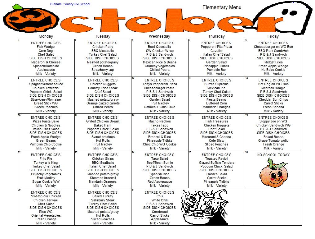 middle school schedule template